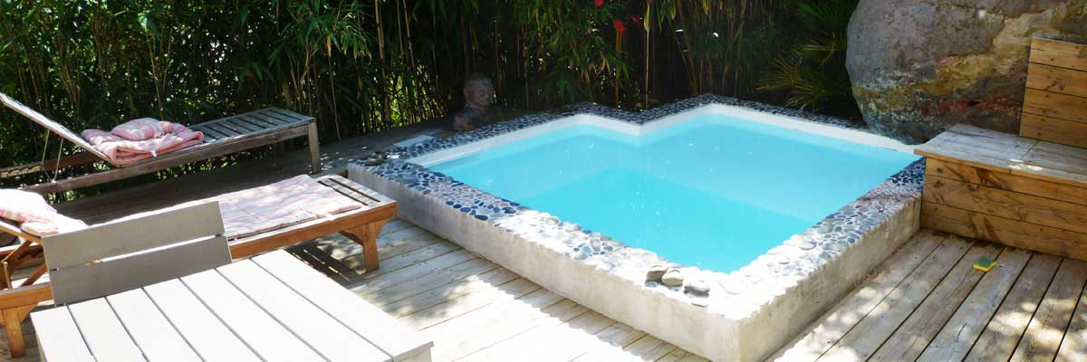 Avantages de la construction d 39 une plunge pool spa en for Petite piscine polyestere